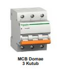 MCB Schneider Domae 3 kutub